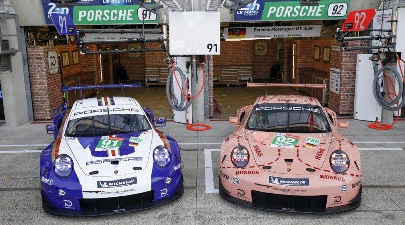 Porsche Le Mans 2018