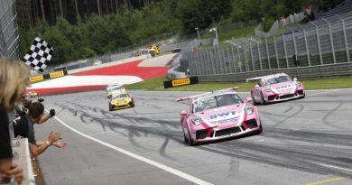 Porsche 911 GT3 Cup, Thomas Preining (A), Porsche Carrera Cup Deutschland, Spielberg 2018