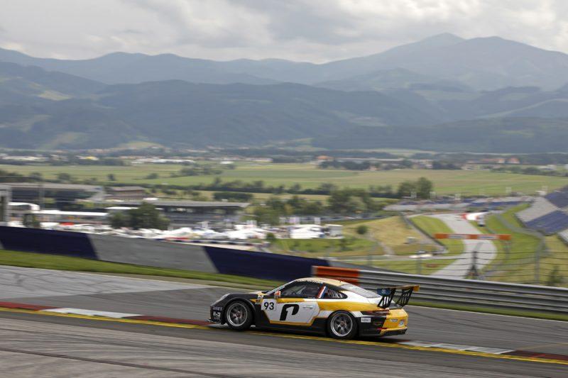 Porsche 911 GT3 Cup, Larry ten Voorde (NL), Porsche Carrera Cup Deutschland, Spielberg 2018
