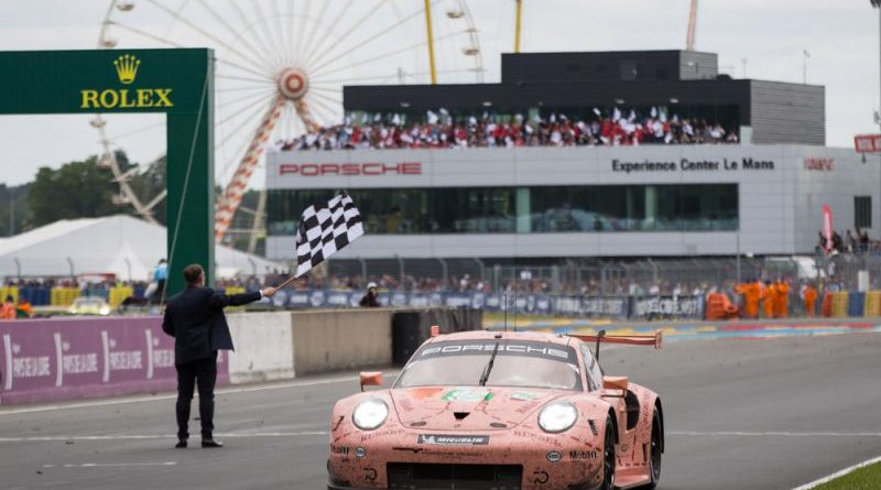 Porsche celebrates double victory at Le Mans 24-hour marathon