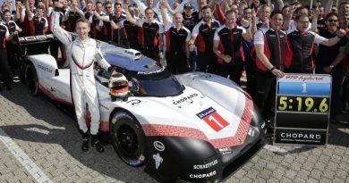 Porsche LMP Team- Nordschleife record of Timo Bernhard and the Porsche 919 Hybrid Evo