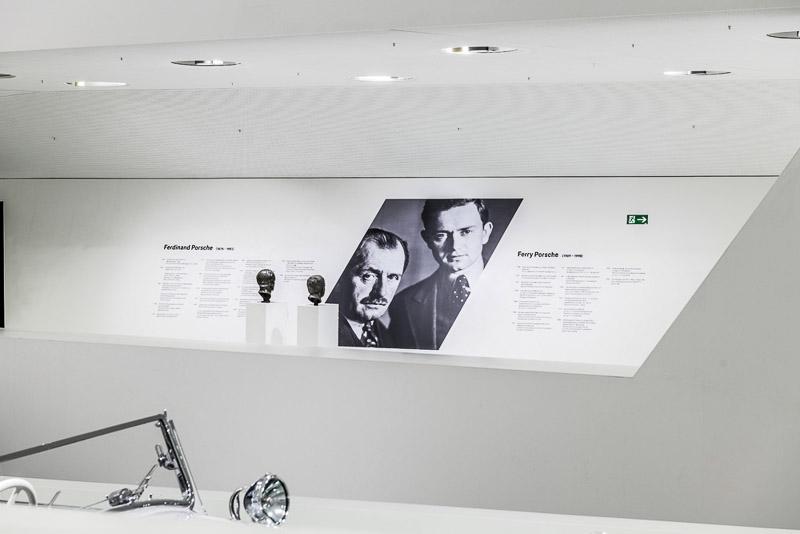 Porsche Museum exhibition 70 years