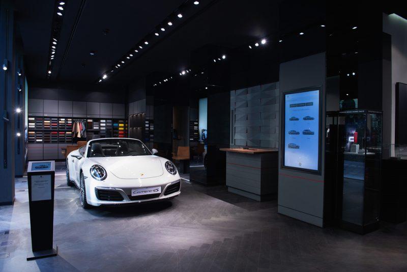 Porsche Studio Milan Presentation of Porsche 911