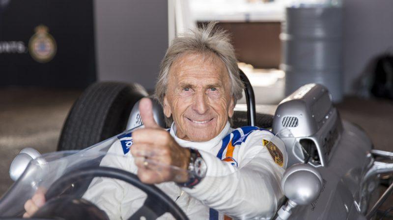 Derek Bell in a Porsche 804