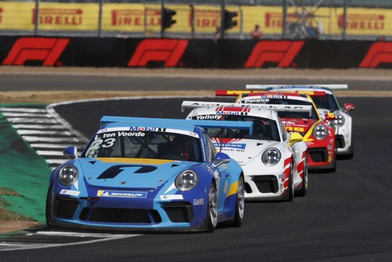 Porsche 911 GT3 Cup, Larry ten Voorde (NL), Porsche Mobil 1 Supercup, Silverstone 2018