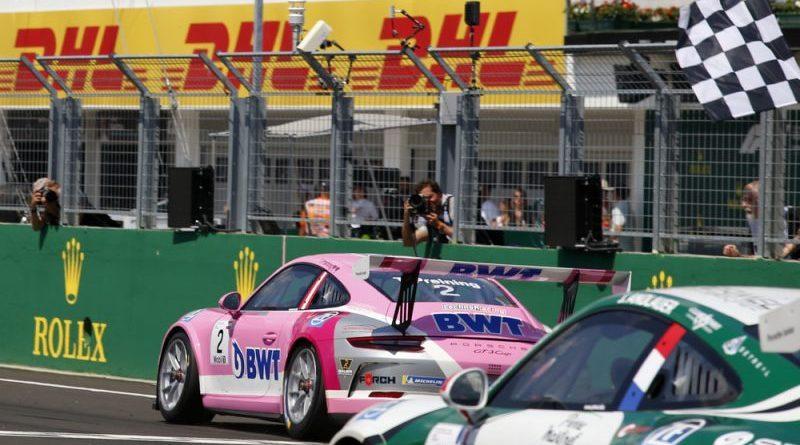 Porsche 911 GT3 Cup, Thomas Preining (A), Porsche Mobil 1 Supercup, Budapest 2018