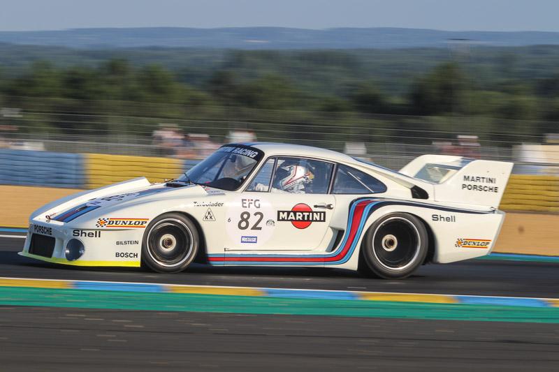 Romain Dumas -1977 Porsche 935 - Grid 6 -  Le Mans Classic 2018