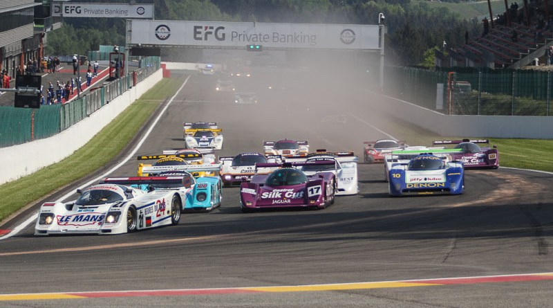 The Porsches at Spa Classic 2018