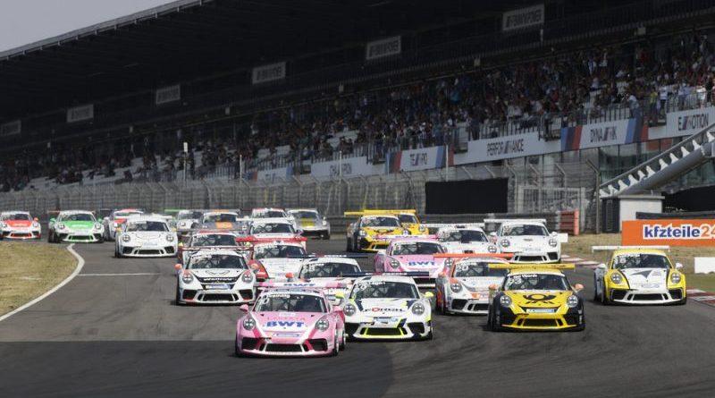 Start Porsche Carrera Cup Deutschland, Nürburgring I - 2018