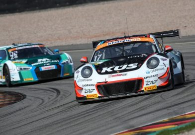 Porsche 911 GT3 R fastest on the Sachsenring