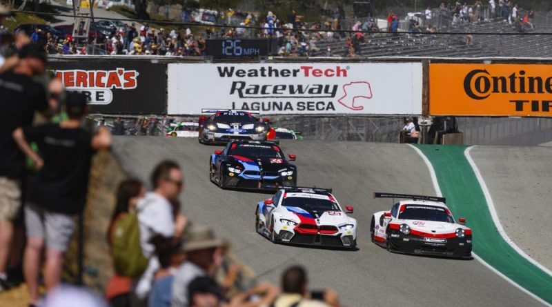 Porsche GT Team scores second after tactic thriller in the IMSA Weathertech Sportscar Championship at Laguna Seca