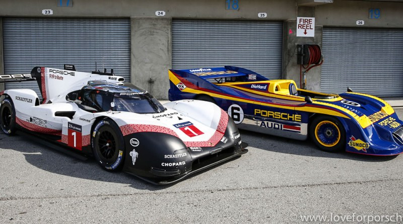 Porsche 919 Evo meets Porsche 917 at the RRVI