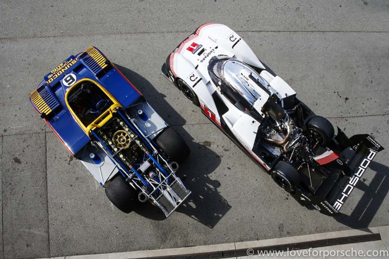 Porsche 919 Evo meets Porsche 917 at the RRVI-5