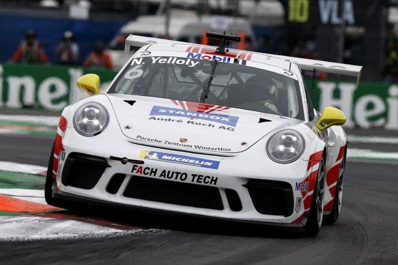 Porsche 911 GT3 Cup, Nick Yelloly (GB), Porsche Mobil 1 Supercup, Mexico 2018.