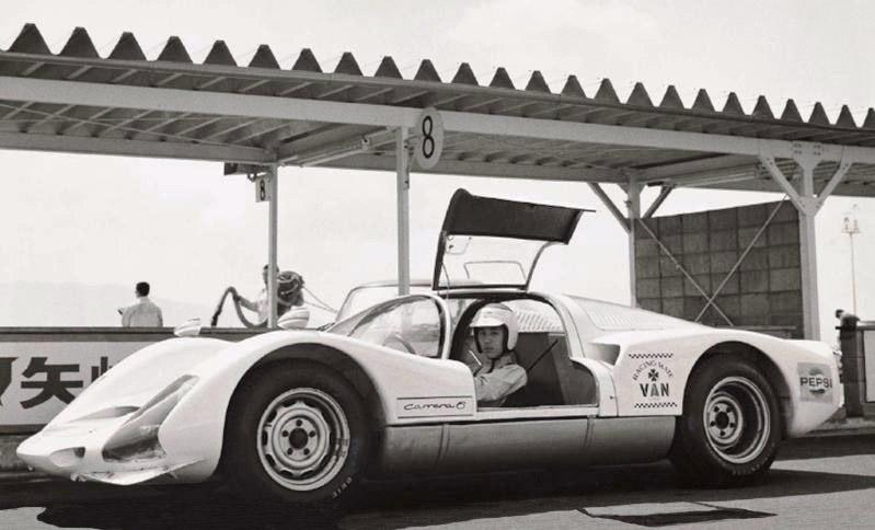 1967 Japan GP Tetsu Ikuzawa Porsche 906 Carrera 6