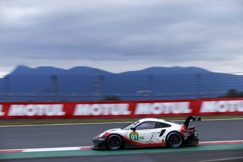 Porsche 911 RSR, Porsche GT Team (91), Gianmaria Bruni (I), Richard Lietz (A), Fuji 2018