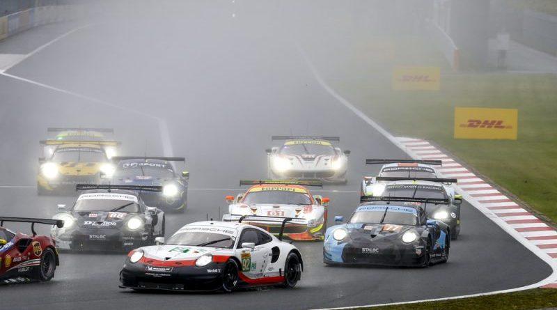 Porsche 911 RSR, Porsche GT Team (92), Michael Christensen (DK), Kevin Estre (F), Fuji 2018