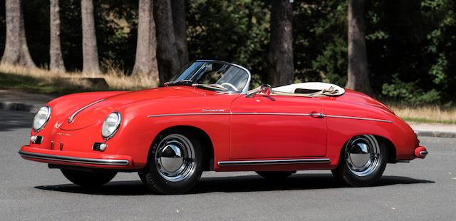 bonhams zoute sale 1954 Porsche 356 pre a speedster