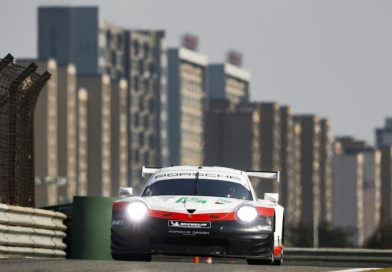 Grid positions four and eight for the Porsche GT Team in Shanghai