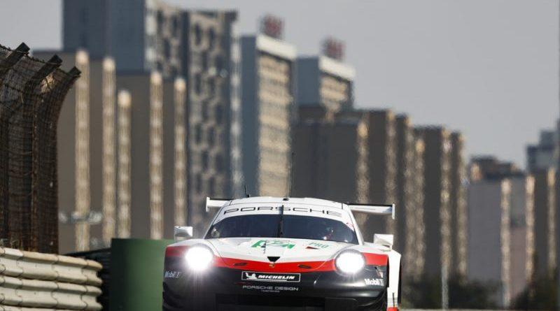 Porsche 911 RSR, Porsche GT Team (92), Michael Christensen (DK), Kevin Estre (F), Shanghai 2018
