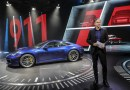 Oliver Blume presents the new Porsche 911 in Los Angeles