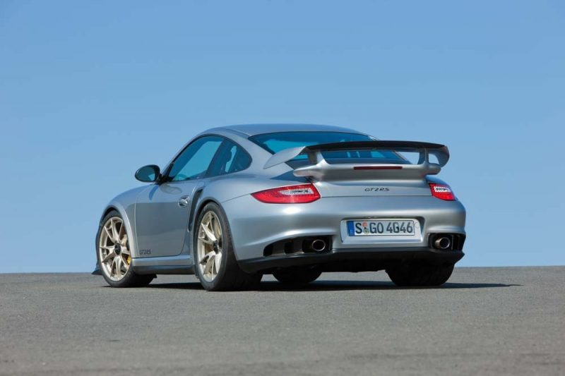 The type 997, Porsche 911 GT2 RS