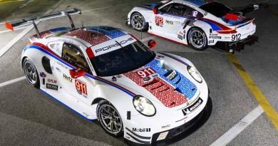 Porsche 911 RSR, Porsche GT Team (911): Patrick Pilet, Nick Tandy, Frederic Makowiecki, Porsche GT Team (912): Earl Bamber, Laurens Vanthoor, Mathieu Jaminet