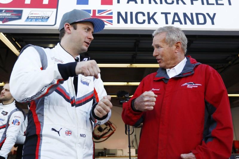 Porsche GT Team: Nick Tandy, Hurley Haywood (l-r)