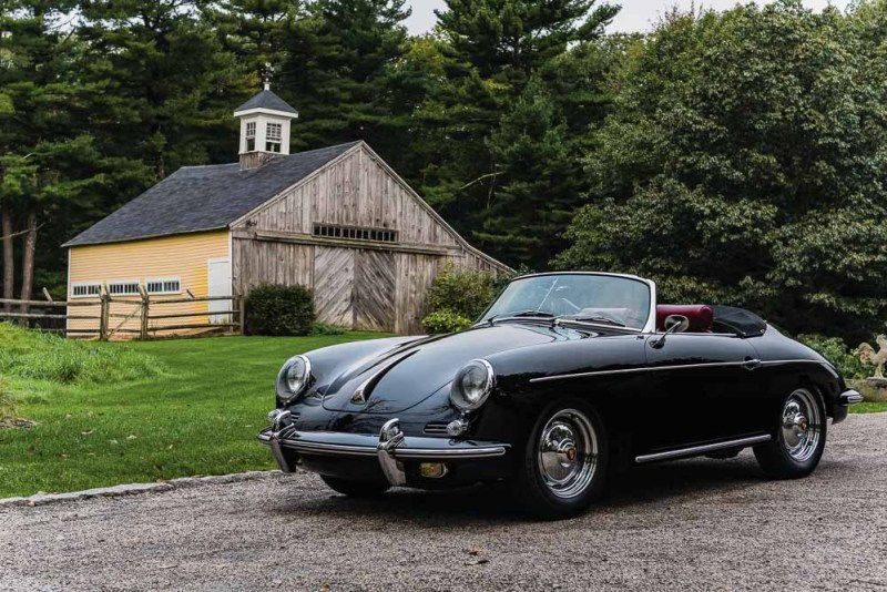 1962 Porsche 356 B Super 90 'Twin Grille' Roadster by D'Ieteren Josh Sweeney ©2018 Courtesy of RM Sotheby's