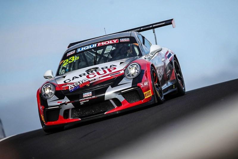 Team Carrera Cup Asia, Porsche GT3 Cup (23), Chris Van der Drift, Paul Tresidder, Jinlong Bao, Philip Hamprecht