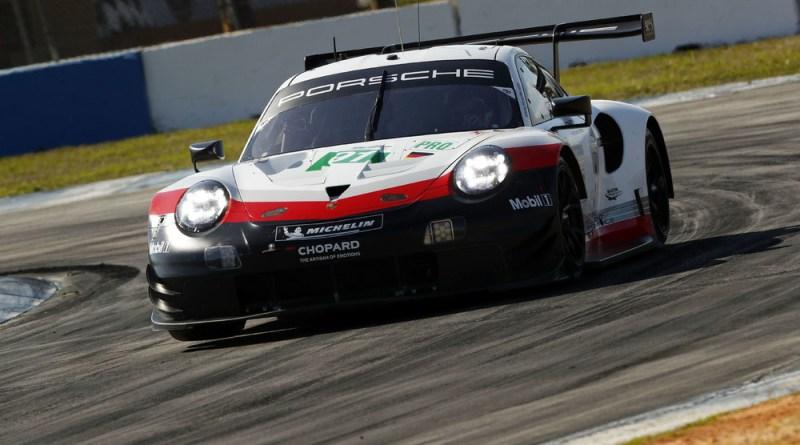 Porsche 911 RSR, Dempsey Proton Racing (77), Julien Andlauer (F), Matt Campbell (AUS), Christian Ried (D)