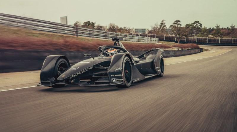 Porsche, Formula E, car, Neel Jani, rollout, Weissach, 2019