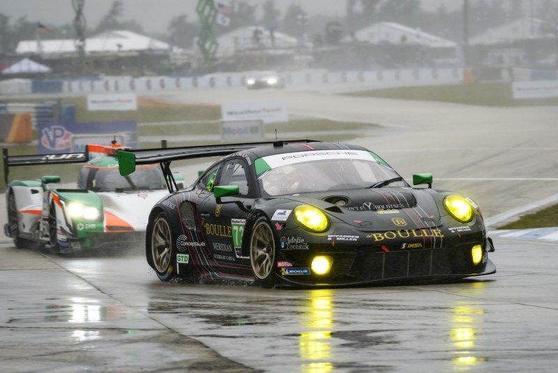 Sebring 12H - Porsche 911 GT3 R (73), Park Place Motorsports Patrick Long, Patrick Lindsey, Nicholas Boulle