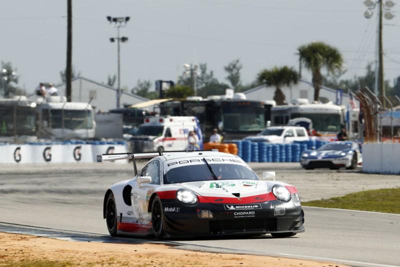 Sebring Porsche 911 RSR, Porsche GT Team (92), Michael Christensen (DK), Kevin Estre (F)