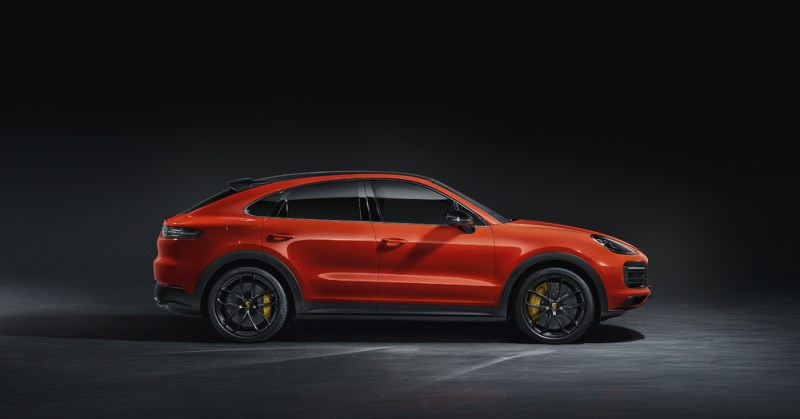 The new Cayenne Coupé