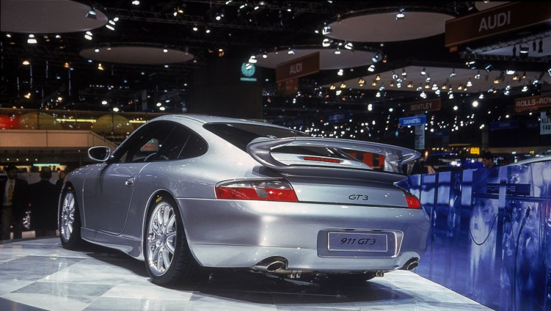 World première 20 years ago: The Porsche 911 GT3 had its public debut at the Geneva Motor Show.