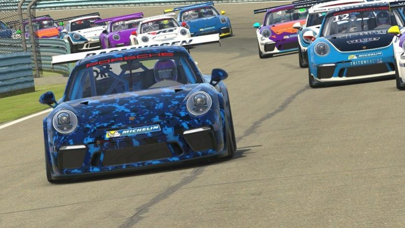 At the Porsche Esport Supercup, forty sim racers compete against each other