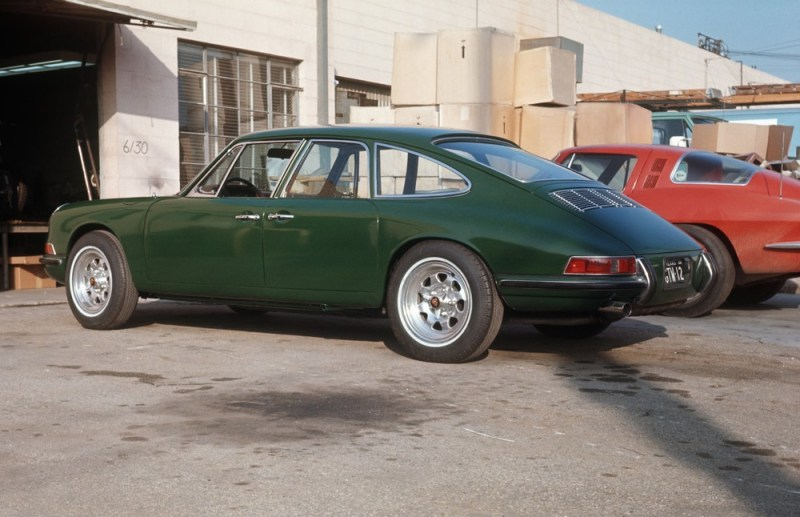 Four-door prototype from the 1960s based on the 911 S