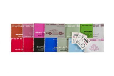 Instruction manuals for classic Porsche models