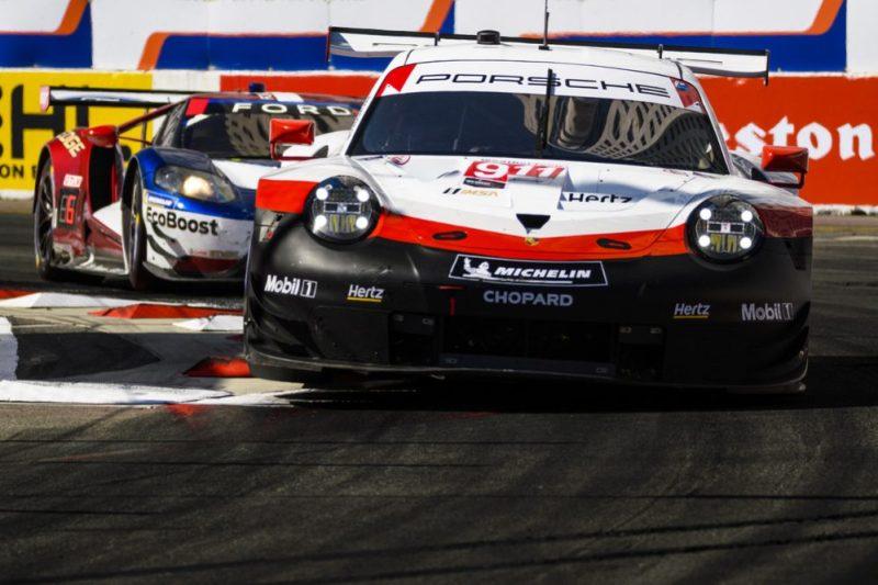 Porsche 911 RSR (911), Porsche GT Team: Patrick Pilet, Nick Tandy