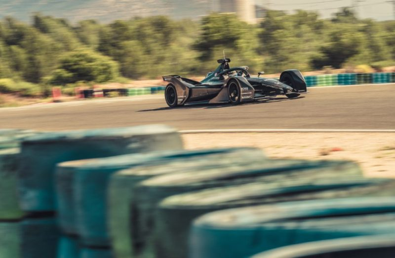 Porsche, Formula E, car, Test, Calafat, 2019 - 2