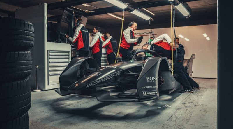 Porsche, Formula E, car, Test, Calafat, 2019