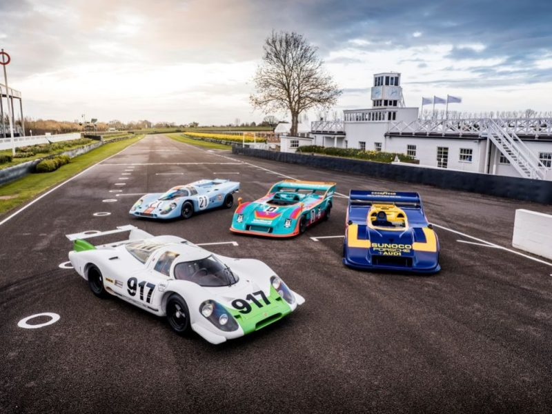 These four 917 have a combined PS output of 3,380