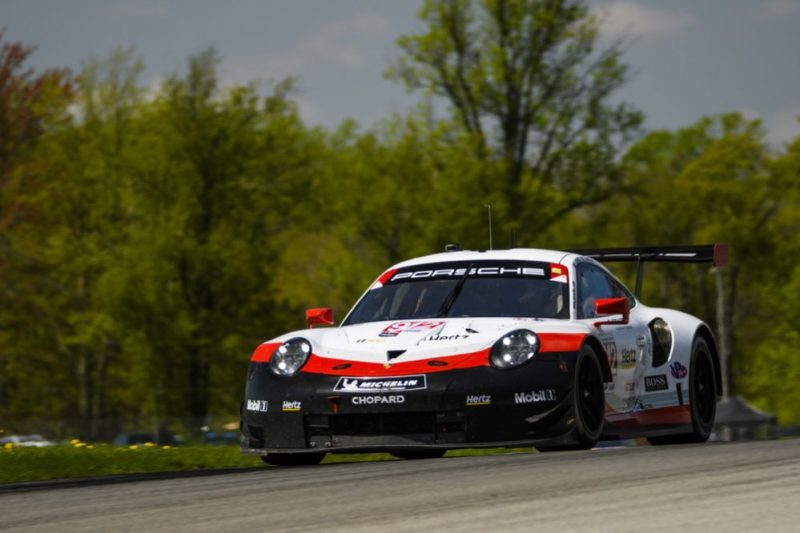 Porsche 911 RSR (912), Porsche GT Team- Earl Bamber, Laurens Vanthoor-2