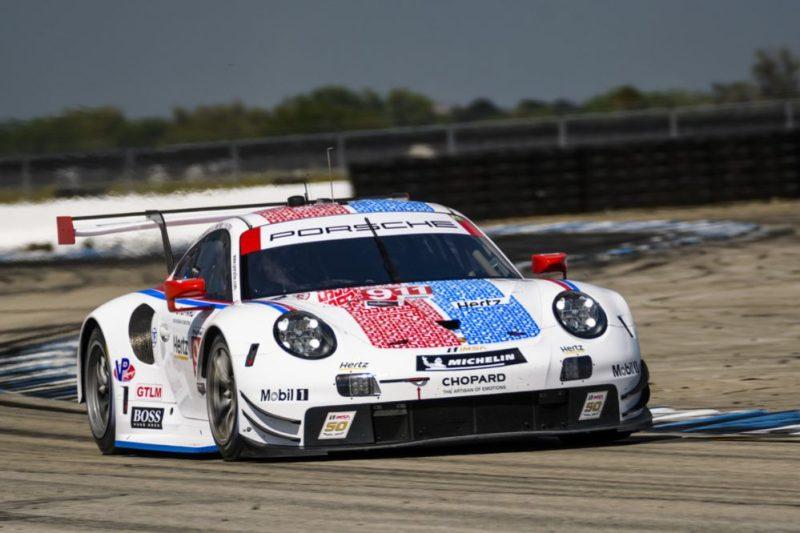 Porsche 911 RSR, Porsche GT Team, USA