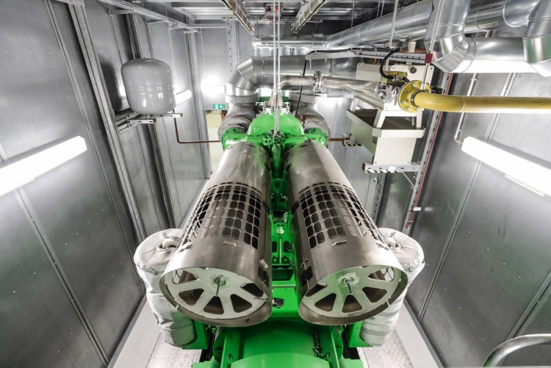 "Porsche purses the vision of a ""zero-impact factory"". The new cogeneration plants are an important step in the right direction"