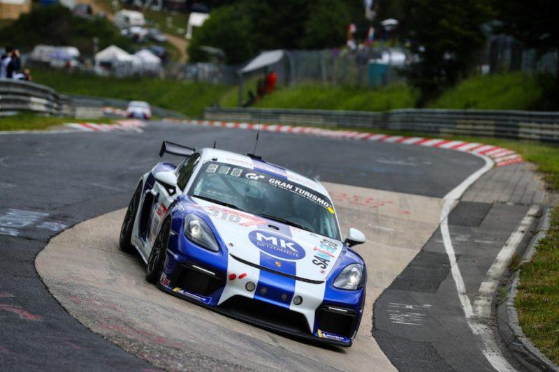 Klasse Cup 3, (310), Porsche 718 Cayman GT4 Clubsport; Team Mathol Racing; Marc Keilwerth, Marcos Adolfo Vazque, Rüdiger Schicht, Montana