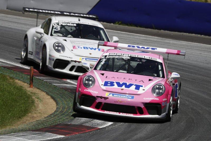 Porsche 911 GT3 Cup, Michael Ammermüller (D), Porsche Carrera Cup Deutschland, Spielberg 2019