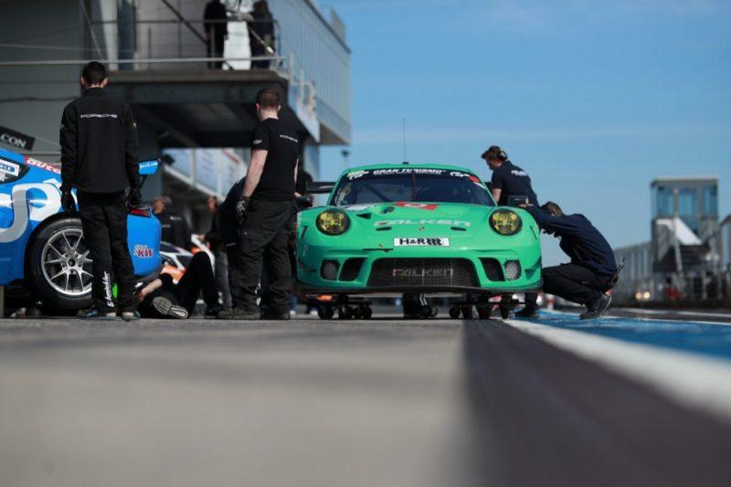 Porsche 911 GT3 R, Falken Motorsport No 44, Jörg Bergmeister (D), Dirk Werner (D), Martin Ragginger (A), Klaus Bachler (A)