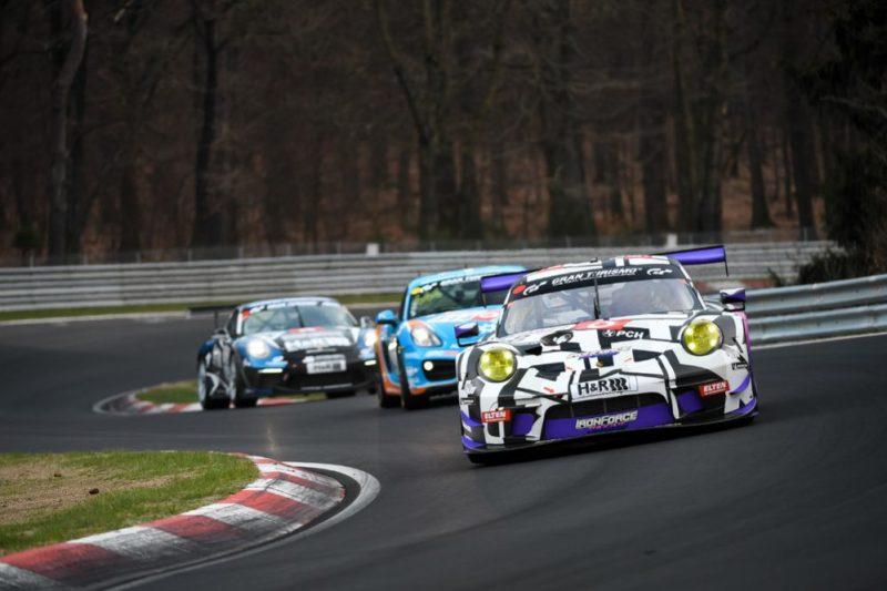 Porsche 911 GT3 R, IronForce by Ring Police No 8, Jan-Erik Slooten (D), Lucas Luhr (D), Steve Jans (LUX), Adrien de Leener (B)